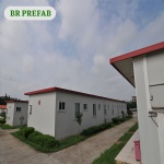 Modular prefabricated low cost house for labor camp
