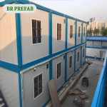 two story container house for management team of labor camp