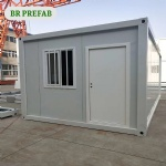affordable 20 GP flat pack container house for labor camp